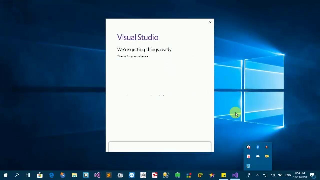 free download visual studio 2019