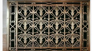 Latest window grill designs for modern home
