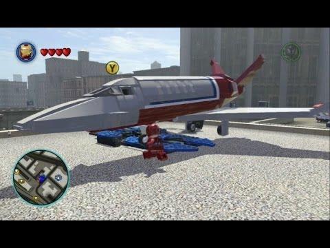 Lego Marvel Superheroes Tony Stark Sports Car