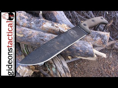 ESEE Junglas Knife Review: Wilderness King