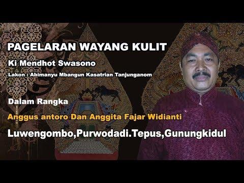 Live// Wayang Kulit Gagrak jogjakarta .Ki mendhot Swasono