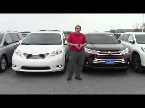 2017 Toyota Highlander And Sienna For Pat Steve From Wade