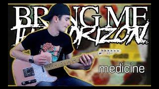 Bring Me The Horizon - medicine (Guitar & Bass Cover w/ Tabs) Video