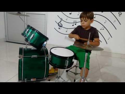 FUNACSEP. Escuela de música (practica - iniciación a la batería 2)