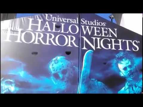 Opening Weekend 2017 Front Gate Universal Halloween Horror Nights Saw Ash Vs Evil Dead Studios Chuck & Opening Weekend 2017 Front Gate Universal Halloween Horror Nights ...