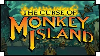 The Curse of Monkey Island - (LucasArts Adventure Game)