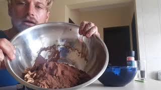 Raw Vegan Chocolate Black Bean Fudge Brownies!