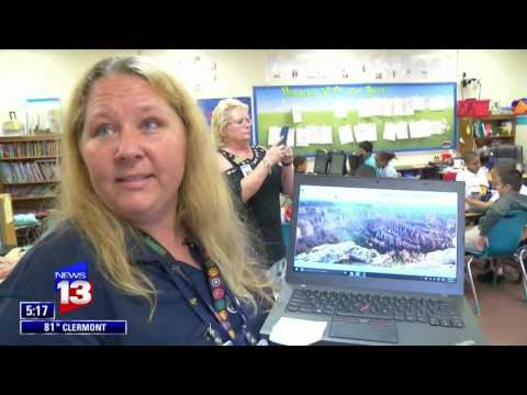 Discovery Elementary School uses Nearpod VR