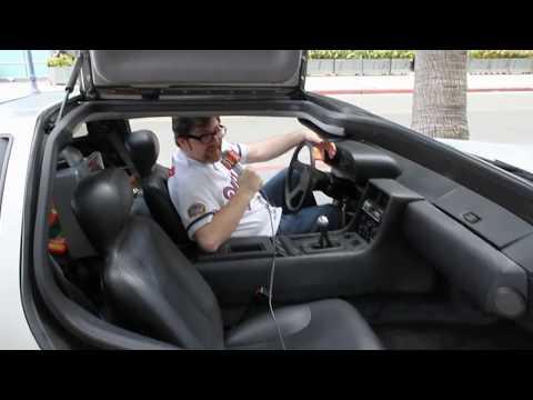 Ernest Cline - Win a DeLorean - Comic-con 2012