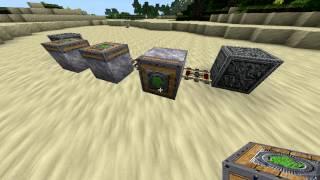 Поршневые Двигатели - MineCraft - Обзор 1