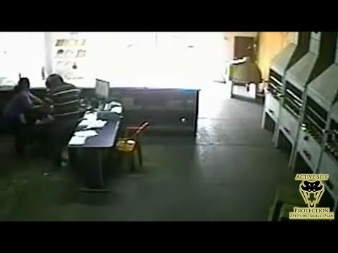 Clerk Takes Her Opportunity to Hilariously Disarm Robber   Active Self Protection