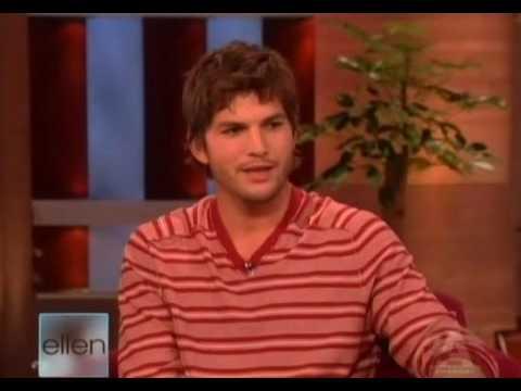 Ashton Kutcher on Ellen - Part 1