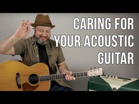 Caring for Your Acoustic Guitar