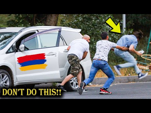 STEALING PEOPLES CAR PRANK IN ARMENIA! (GONE WRONG)
