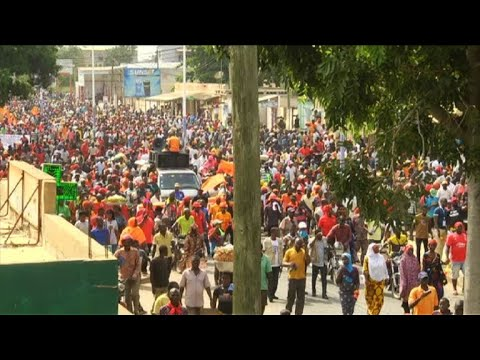 Togo: protesters vent frustration at political situation