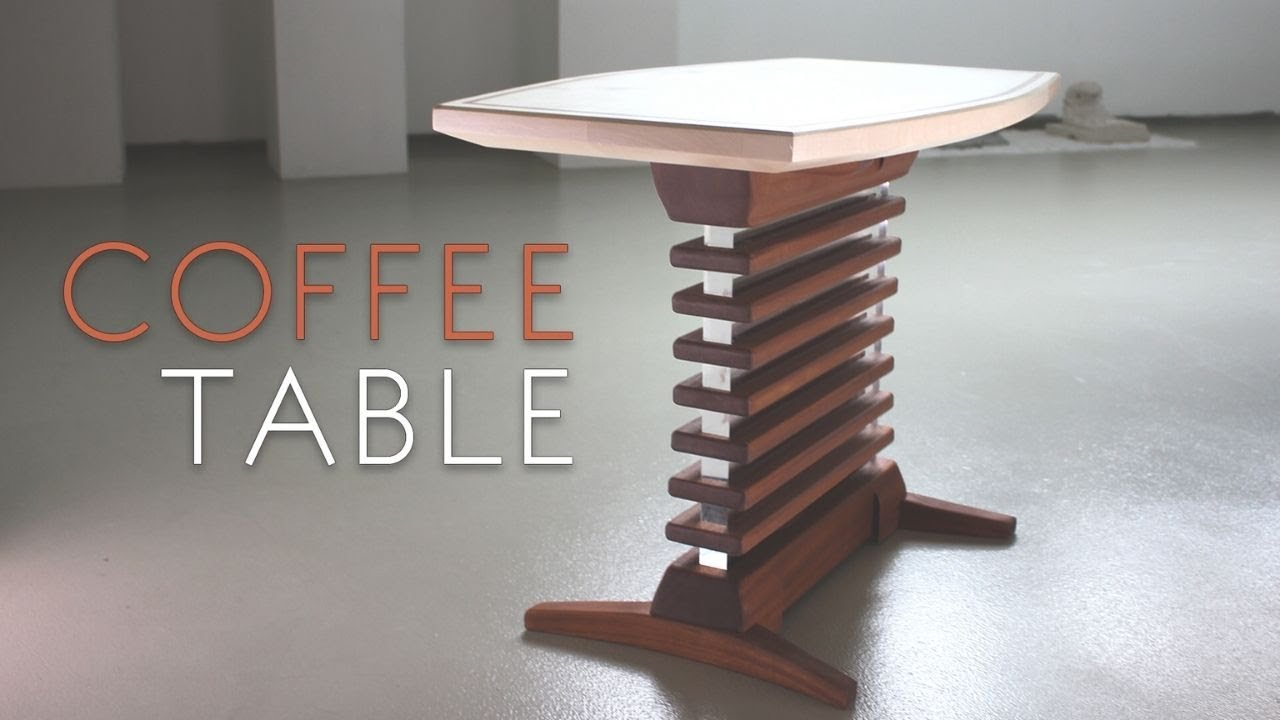 Tony Stark Style Coffee Table Making