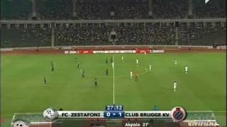 Zestafoni 3-3 Club Brugge 18.08.2011 Europa League Play-Off