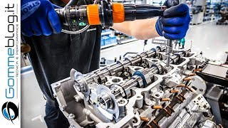 CAR FACTORY Production: Mercedes AMG SLS V8 Engine 2017 HOW IT MADE Car Assembly Line and Making of