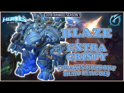 Grubby | Heroes of the Storm - Blaze - Extra Crispy - HL 2018 S1 - Braxis Holdout