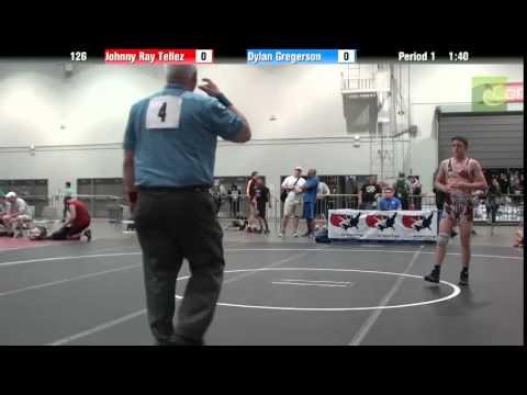 Cadet - BOY 126 - Johnny Ray Tellez vs. Dylan Gregerson