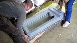 Памятники - технология мрамор из бетона(, 2009-12-04T20:01:18.000Z)