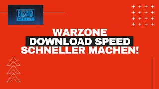 Battle.net WARZONE update speed fix! | Download schneller machen | download fix | NO VPN