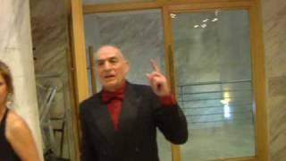 Goya 2010: Santiago Baena nos muestra la sala de canapés y Saturnino García se despista
