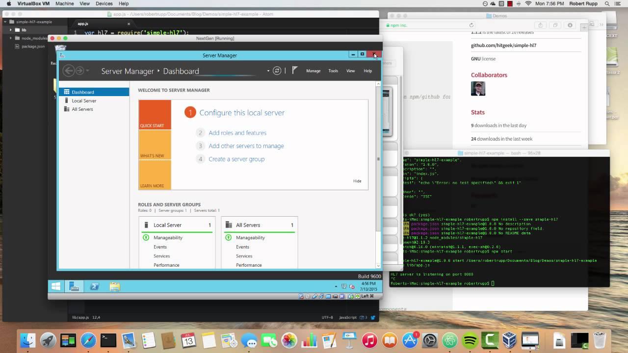 Simple HL7 Server Demo