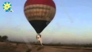 بالفيديو: البالون يحلق في سماء محافظة الأقصر احتفالا بقناة السويس الجديدة