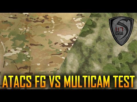 A-TACS VS MULTICAM VS WOODLAND - SPARTAN117GW