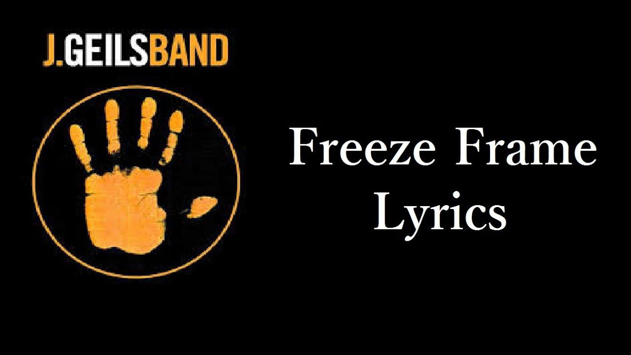 Freeze Frame Lyrics by J. Geils Band - YouTube