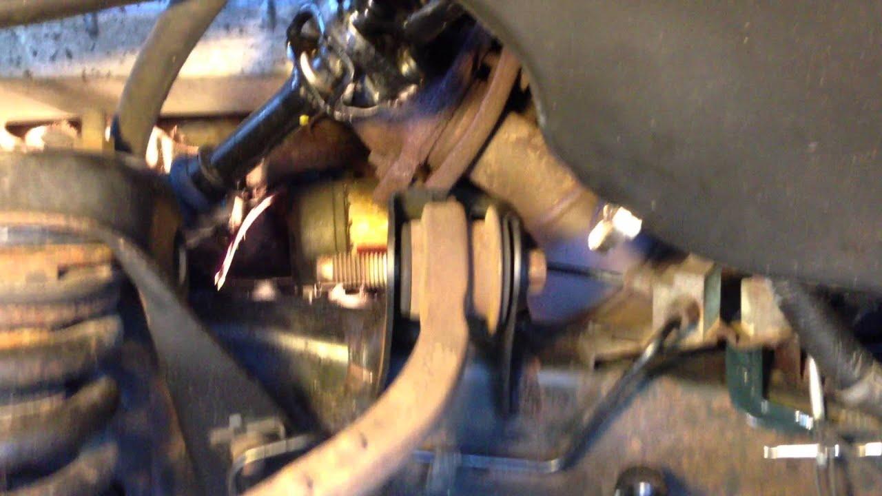 2005 Dodge Dakota: Remove Upper Control Arm  YouTube