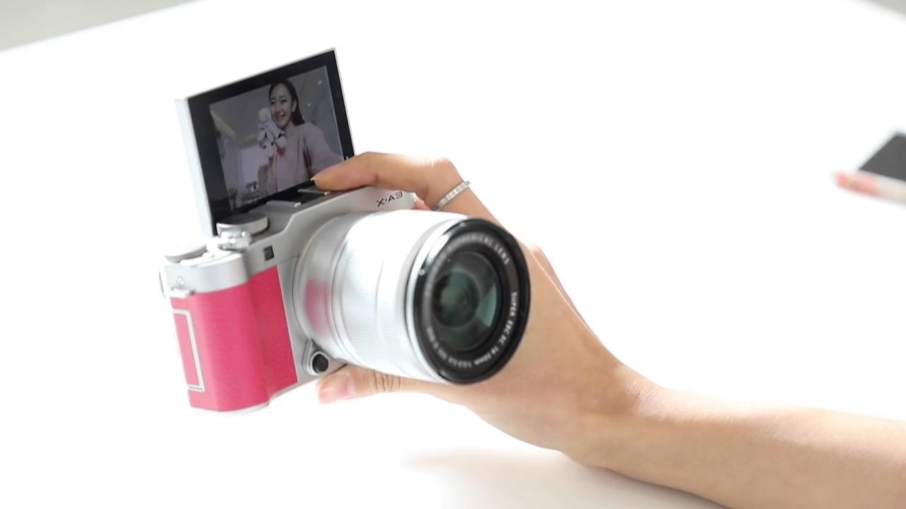 Fujifilm X A3 Selfie Test 2