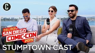 Stumptown Interview: Cobie Smulders, Jake Johnson & Michael Ealy