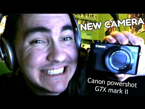 I GOT MY NEW CAMERA TODAY!! (Canon powershot G7X mark II)