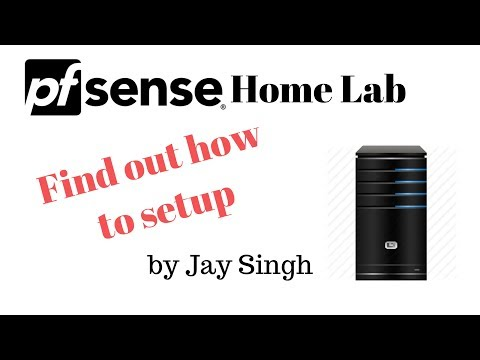 pfSense home lab, find out  how it can be done.