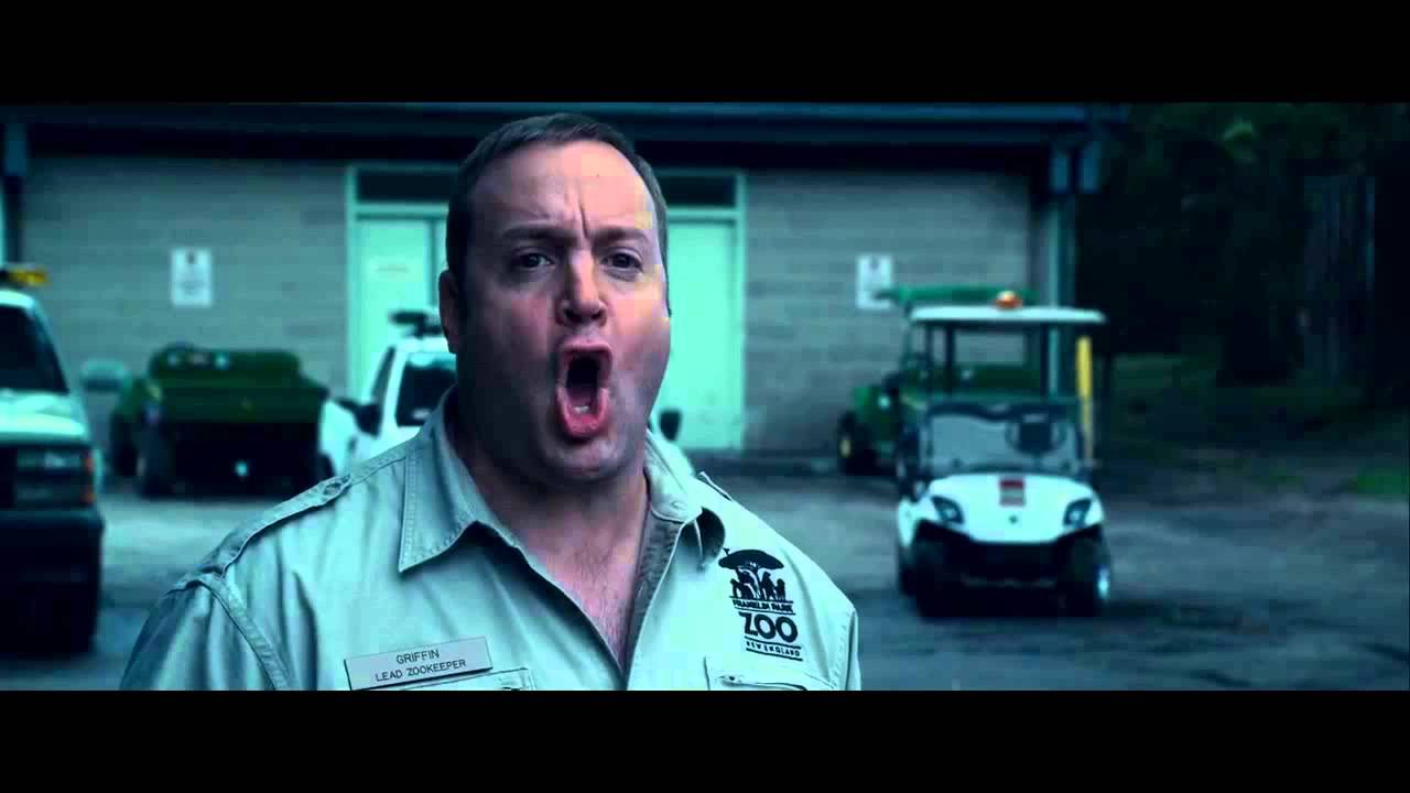 Download Zookeeper clip - Gorilla takes the wheel