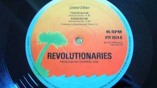 Revolutionaries ,headache, bellyache, toothache, heartache.wmv