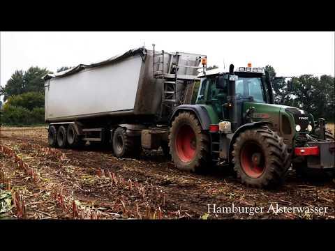 Fendt 820 Vrio bei der  Arbeit Maisernte 2017 Live Sound 4K Tractor Legends