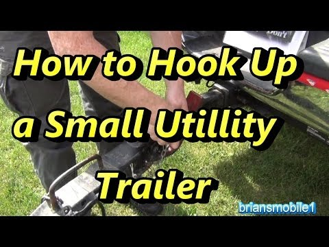 How to Hook Up a Small Utility Trailer