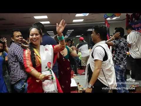 देउसी भैलो uae magar samaj nepal नेपाल मगर सघ शाखा युएई द्वारा आयोजित देउसी भैलो Part 2