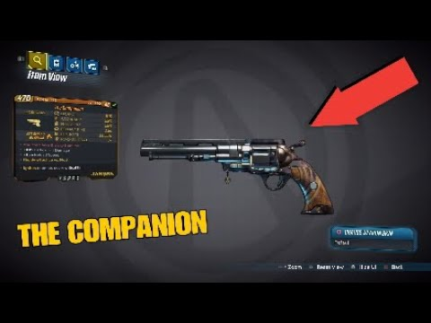 Borderlands 3 Legendary Weapon Guide:THE COMPANION Jackobs Pistol