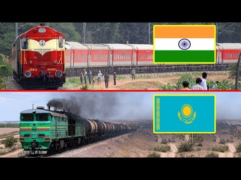 INDIA vs KAZAKHSTAN Railway Comparison