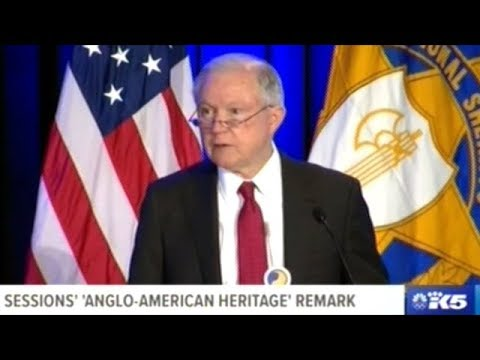 """Office Of Sheriff Is A Critical Part Of The Anglo American Heritage Of Law Enforcement"" AG Sessions"