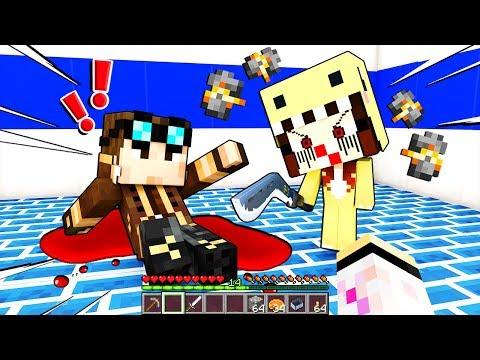 SIRI CATTIVA VUOLE UCCIDERE LYON!!! - Scuola di Minecraft #8