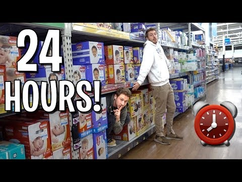 24 HOUR OVERNIGHT FORT CHALLENGE! (ft. Ireland Boys)
