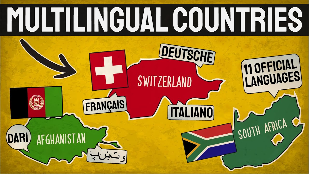 Countries With More Than One Official Language