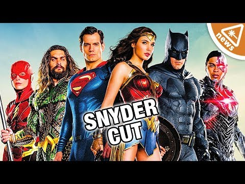 Does the Justice League Zack Snyder Cut Exist? (Nerdist News w/ Jessica Chobot)