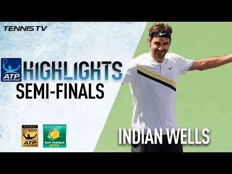 Federer, Del Potro Into Indian Wells Final