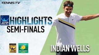 Federer, Del Potro Into Indian Wells Final 2018